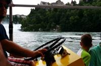 آبشار زیبای راین واقع در سوئیس  | جاذبه های گردشگری ژنو سوئیس