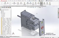 آموزش طراحی قالب پلاستیک نرم افزار سالیدورک