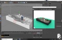 آموزش ساخت نقشه سه بعدی لنداسکیپ در سینما فوردی