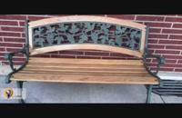 آموزش ساخت نیمکت چوبی