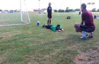 آموزش فوتبال برای کودکان _ مهارتهای دربازه بانی
