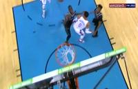 پاس تکنیکی فوق العاده وست بروک در بسکتبال NBA