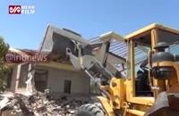 تخریب ویلاهای غیرمجاز در روستاهای پیشوا - ورامین