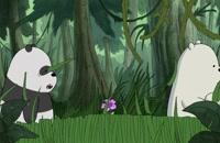 انیمیشن سریالی سه خرس کله پوک(ف2-ق10)-دوبله-We Bare Bears TV Series