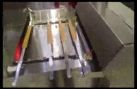 کارخانه تولید کباب؛ کباب زن و کباب پز تمام اتوماتیک اطلس ماشین با ظرفیت 1200 سیخ کباب پخته شده در ساعت. امکان پخت کوبیده، جوجه، برگ و گوجه