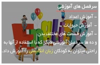 آموزش زبان انگلیسی به کودکان با شعر وآهنگ