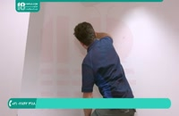 آموزش تصویری نصب صحیح کاغذ دیواری سه بعدی _ 09130919448
