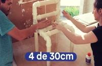 آموزش ساخت میز و صندلی با لوله پی وی سی