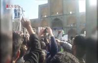 شعار مردم یزد/ تورم، گرانی، جواب بده روحانی