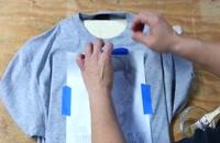 آموزش چاپ عکس و متن روی تی شرت