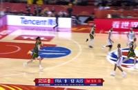 خلاصه بازی فرانسه - استرالیا؛ جام جهانی بسکتبال چین 2019