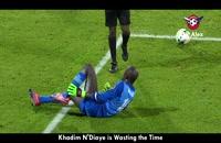 29 صحنه فریبنده  و ناشایست در فوتبال