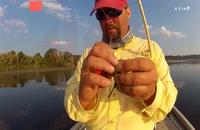 آموزش ماهیگیری _صید خار ماهب با قلاب