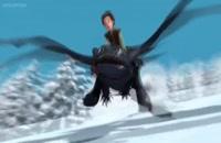 انیمیشن how to train your dragon 3 با زیرنویس فارسی - انیمه