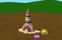 مجموعه آموزشی تو تی تو–Tutitu-(فصل 6ق10)-Building a Rainbow Tower Toy شش ماه به بالا