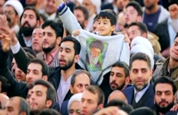 فیلم کامل بیانات رهبر انقلاب در حرم مطهر رضوی | 98/01/01